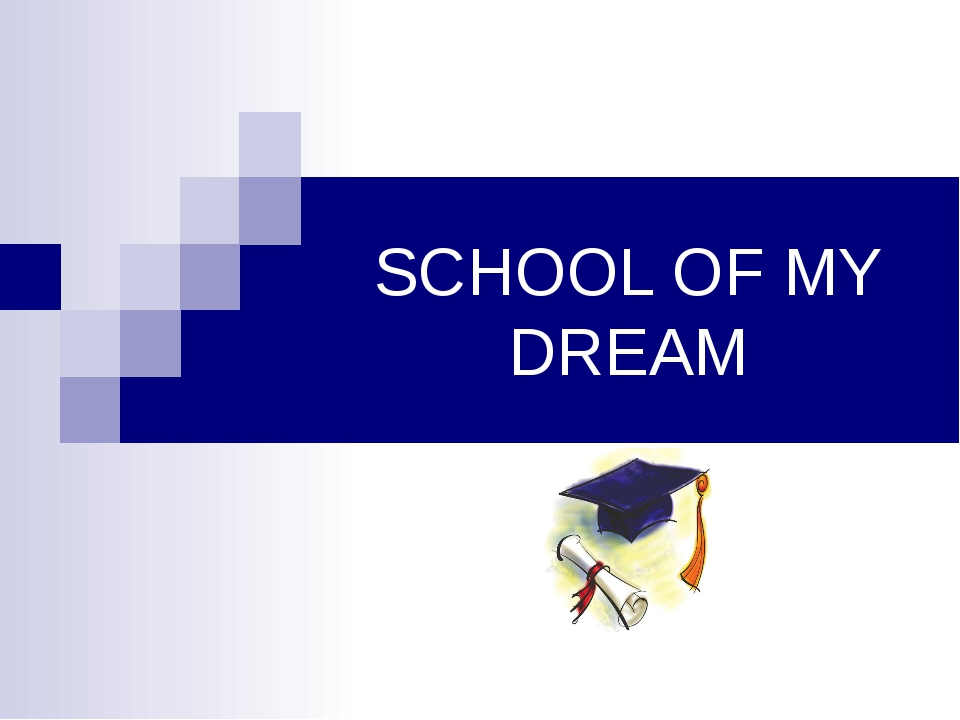 essay on dream school