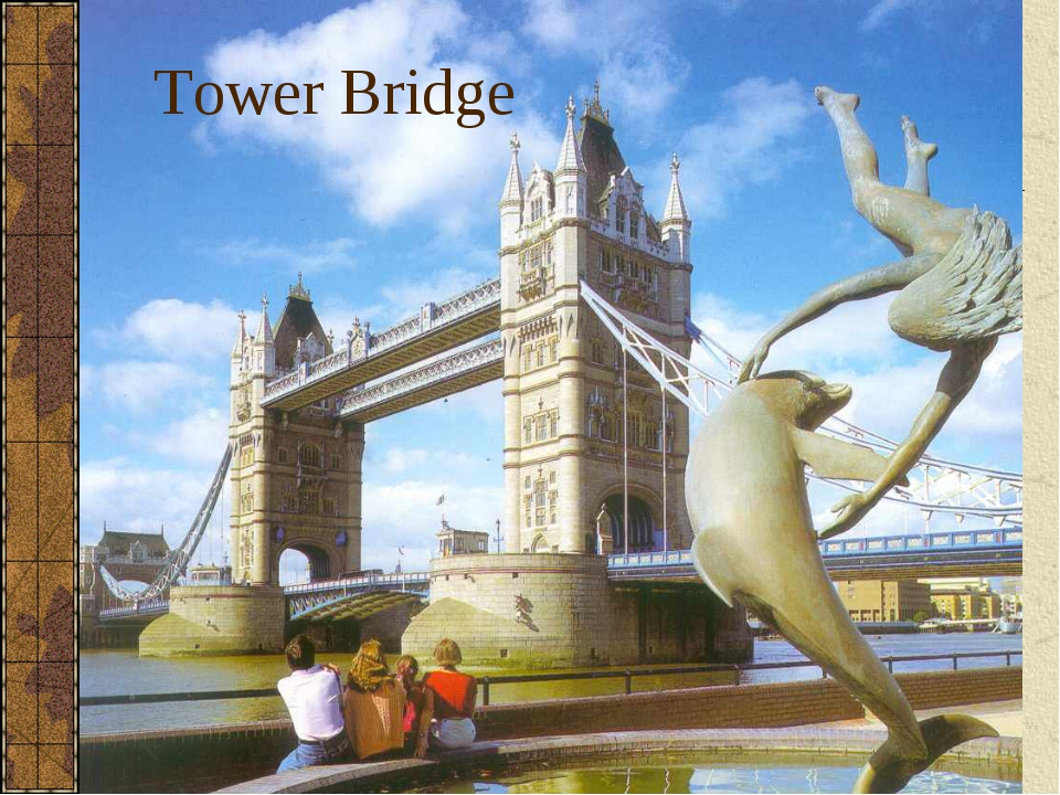 Tower Bridge Double Decker Beefeater