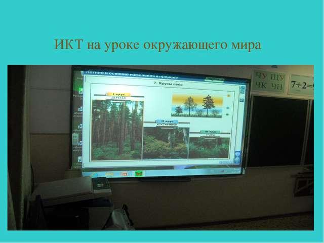 ИКТ на уроке окружающего мира
