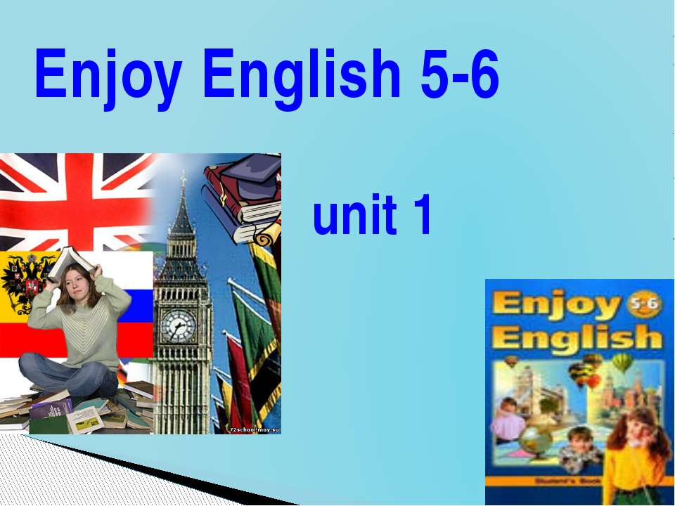 Enjoy English 5-6 unit 1