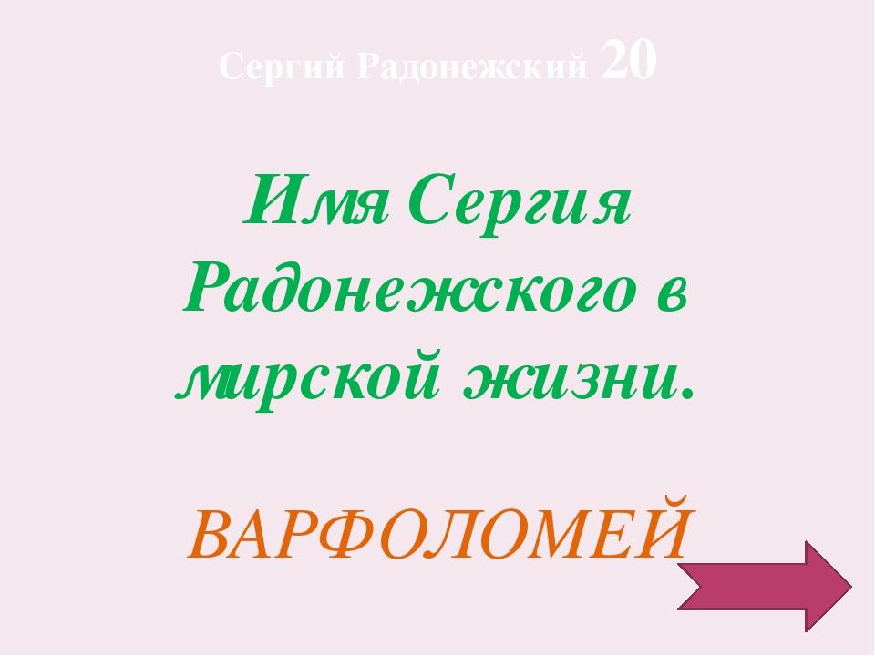 Какое отношение имеет Сергей Радонежский к Куликовской битве? Благословил вой...