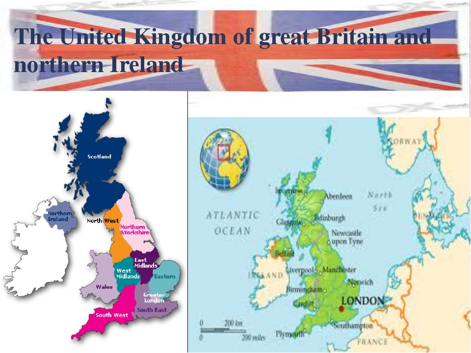 The United Kingdom of great Britain and northern Ireland 