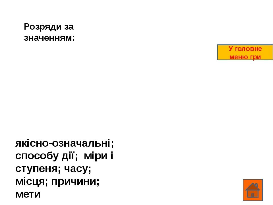 ВОПРОС14 ОТВЕТ Ответ появляется при щелчке по вопросу В главное меню игры
