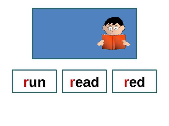 red run read
