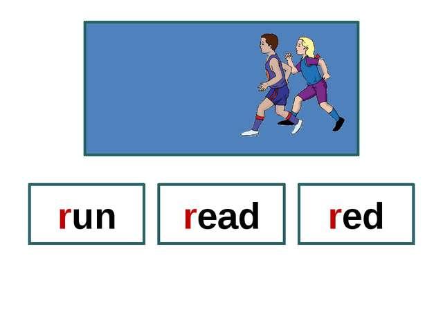 read red run