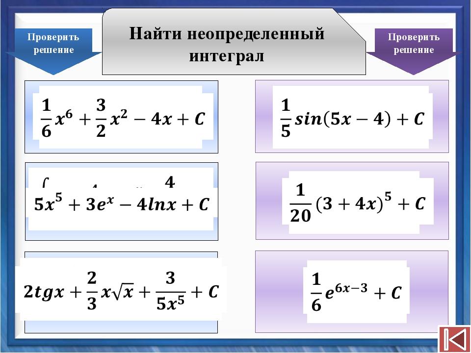 Следует отметить, что для функции вида f(kx+b) можно применять упрощенную фор...
