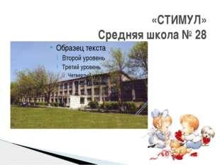 «СТИМУЛ» Средняя школа № 28