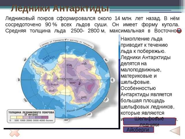 Рельеф Антарктиды УАнтарктиды два рельефа. Поверхность ледяного щита сотде...