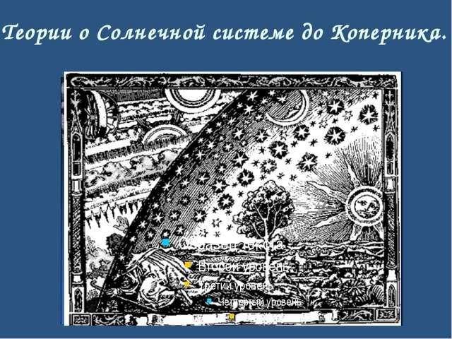 Отличия представлений о Солнечной системе до и после Коперника. Система Копер...