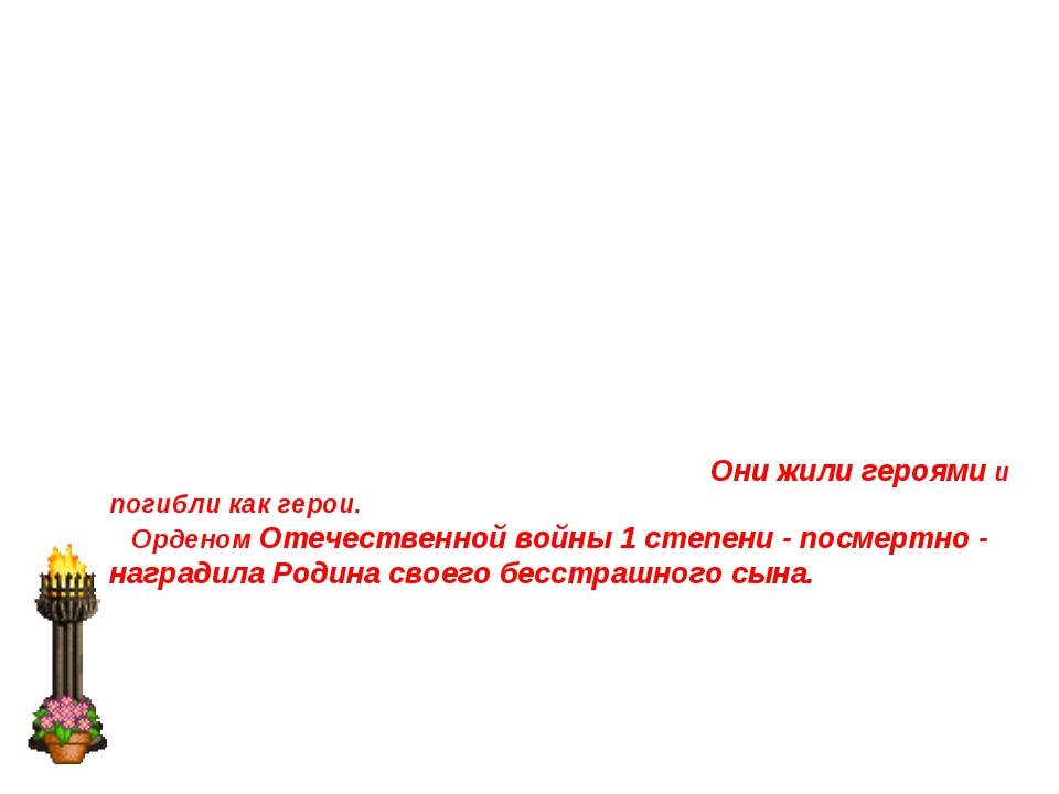Вернувшись в Николаев, ребята доставили подпольщикам радиопередатчик, взрывч...