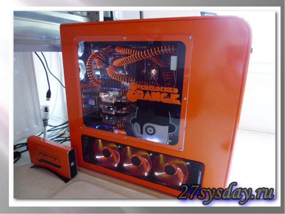 Жидкостные радиаторы для процессора.