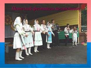 Певческий фестиваль коллективов