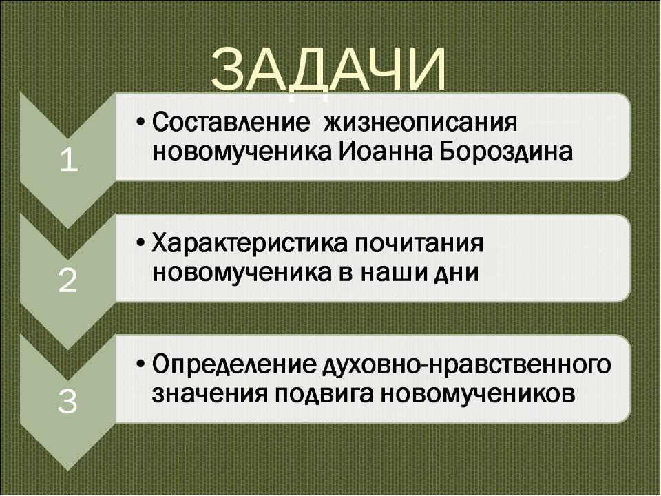 ЗАДАЧИ