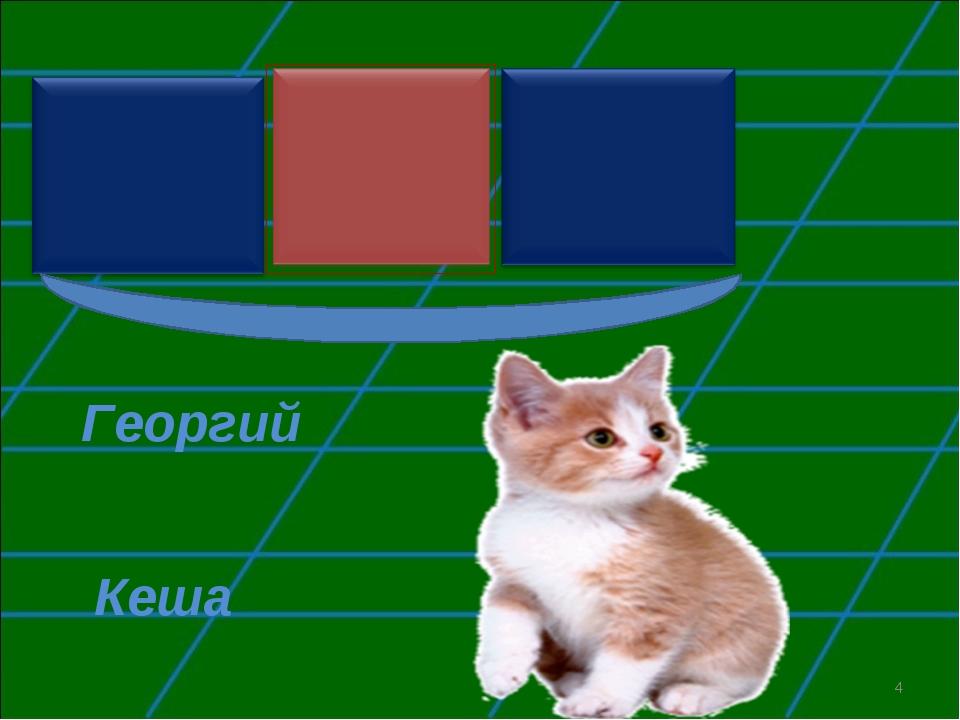 Георгий Кеша *