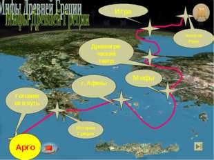 Готовимся в путь История Греции г. Афины Мифы Золотое Руно Игра Древнегре-чес