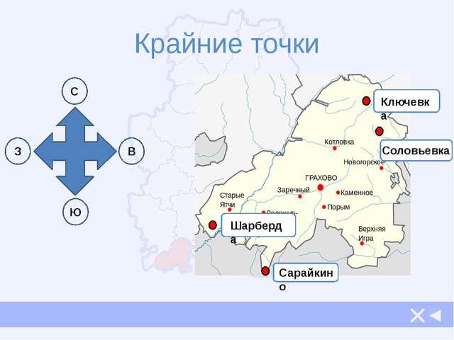 Границы На севере граничит с Можгинским районом 2. На юге граничит с республи...