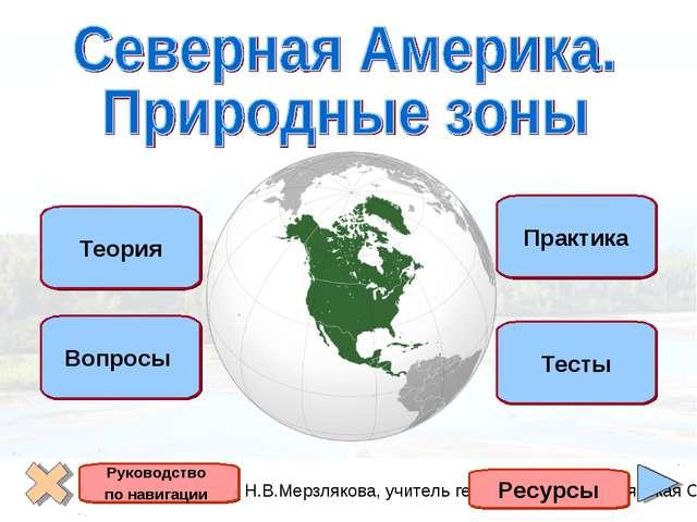 Теория Вопросы Практика Тесты Ресурсы Руководство по навигации