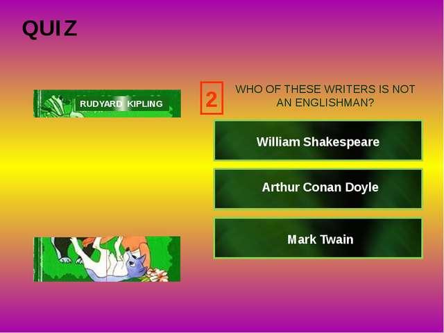 4 click Alexander Duma Alan Milne Hans Christian Andersen RUDYARD KIPLING WHO...