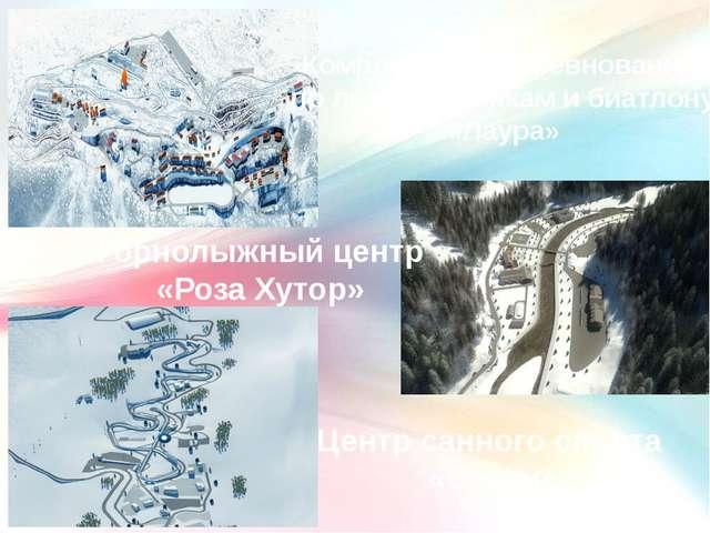 Комплекс для соревнований по лыжным гонкам и биатлону «Лаура» Горнолыжный цен...