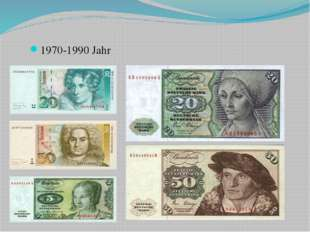 1970-1990 Jahr