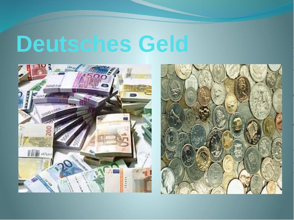 Deutsches Geld