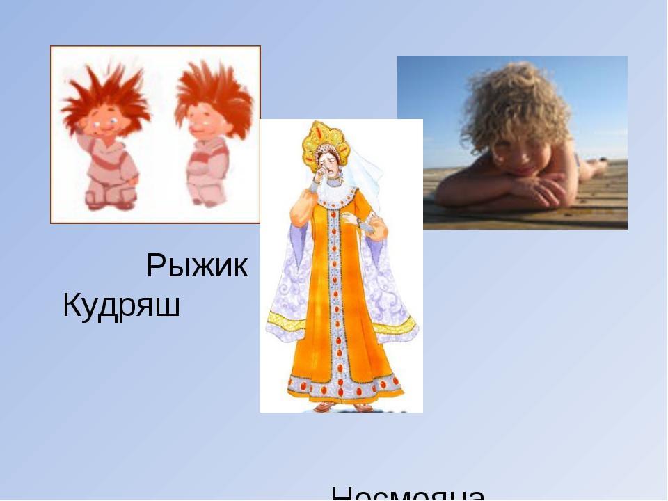 Рыжик Кудряш Несмеяна
