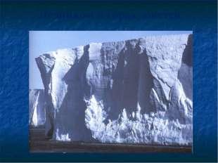 Ледником в горах зовется