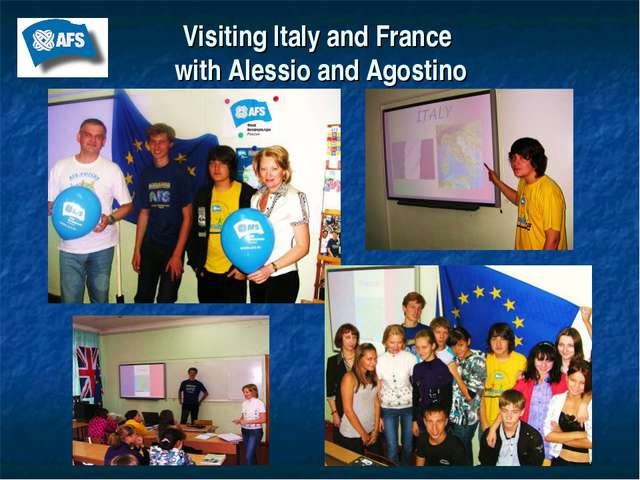 Visiting Italy and France with Alessio and Agostino