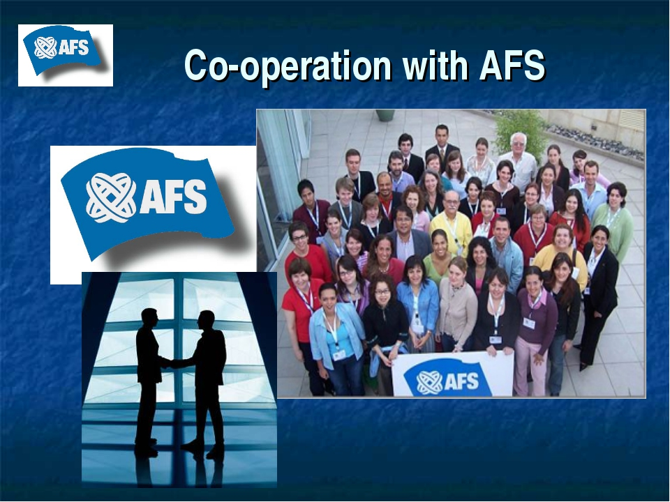 Co-operation with AFS