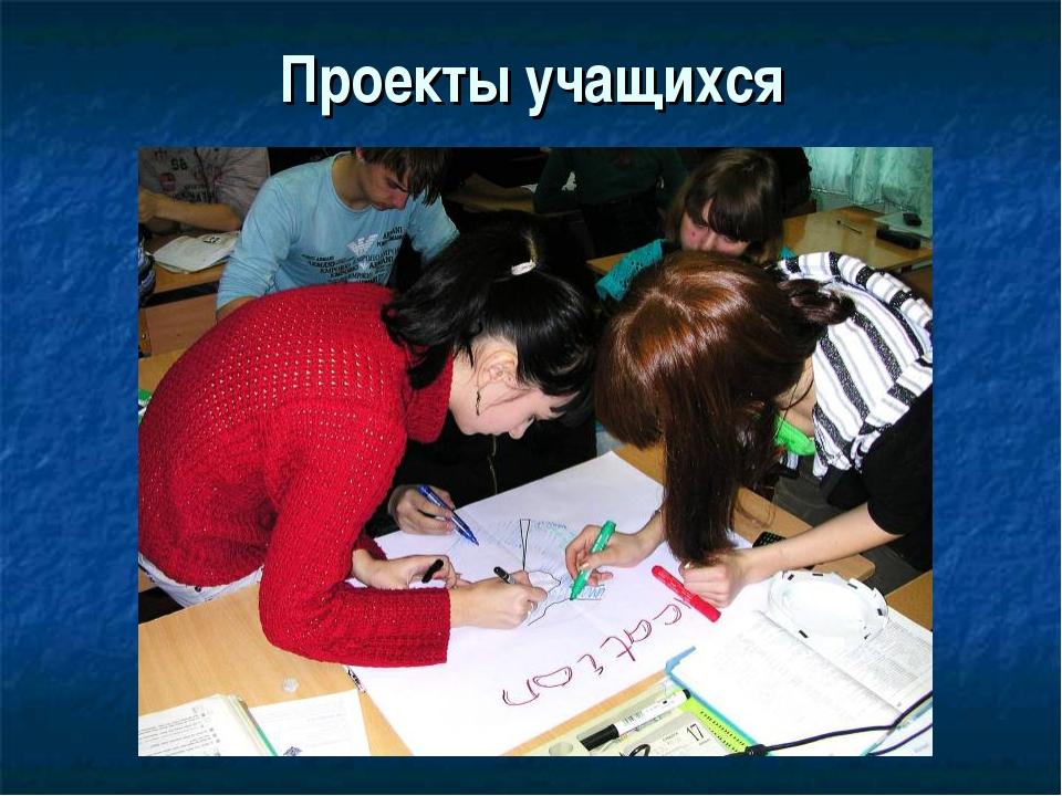 Проекты учащихся