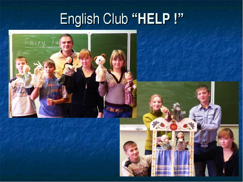 "English Club ""HELP !"""