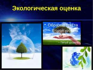 Экологическая оценка