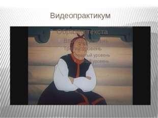 Видеопрактикум