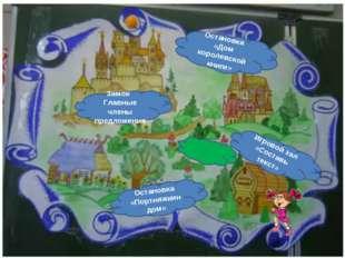 Замок Главные члены предложения Остановка «Портняжкин дом» Игровой зал «Соста