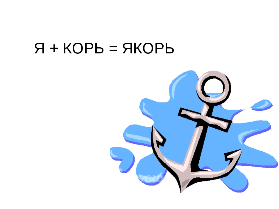 Я + КОРЬ = ЯКОРЬ