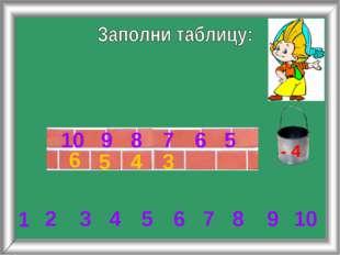 3 4 5 6 6 7 8 9 10 2 3 4 5 6 7 8 1 9 10 5