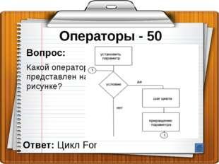 Структура программы - 20 Вопрос: Слово, с которого начинается заголовок прогр