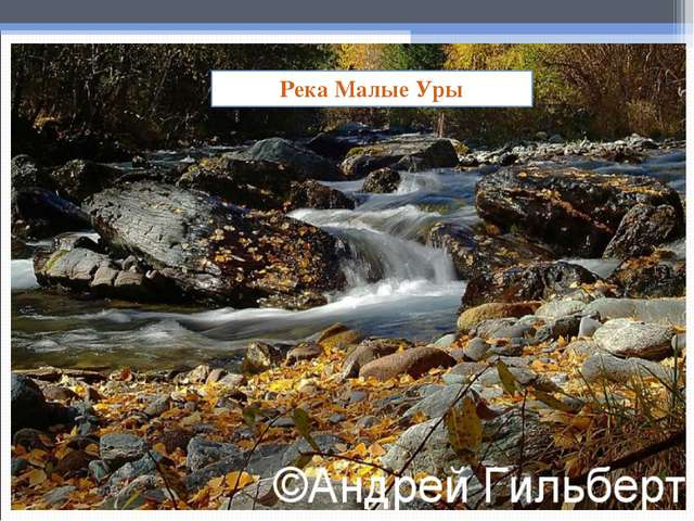 Река Малые Уры