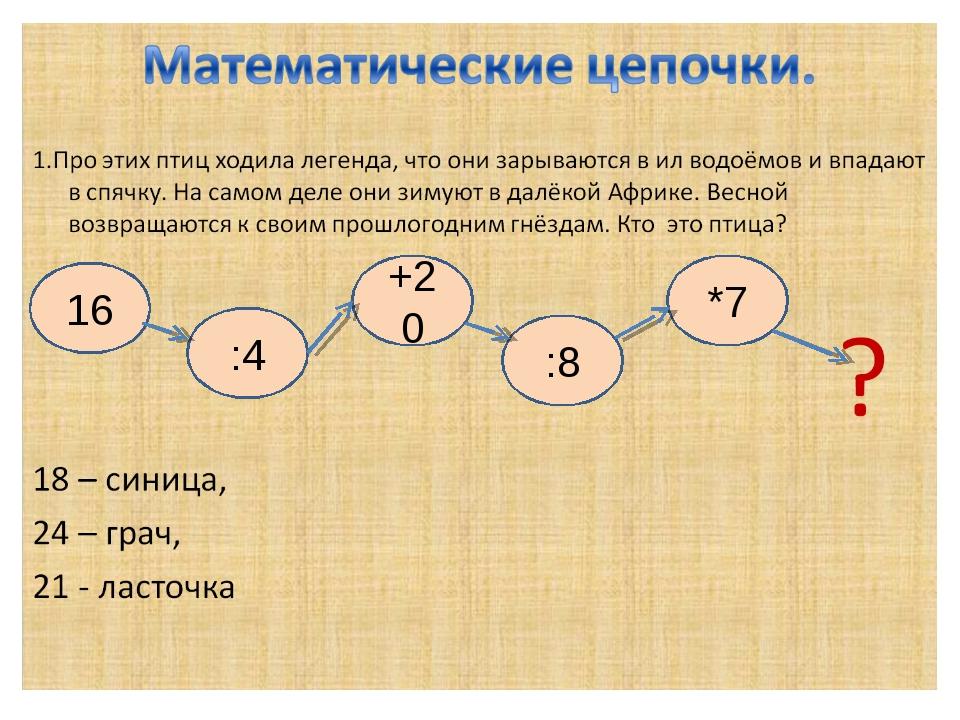 16 :4 +20 :8 *7