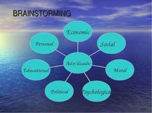 BRAINSTORMING Social