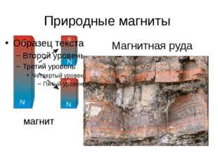 Природные магниты магнит Магнитная руда