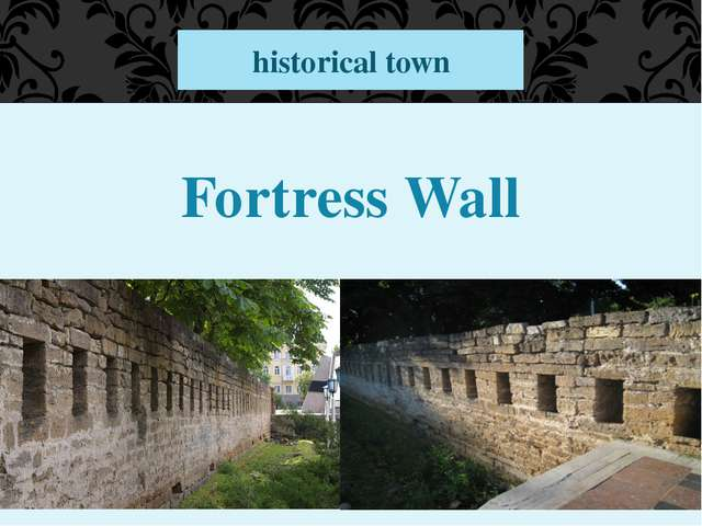 Fortress Wall historical town