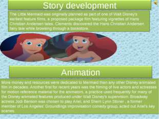 The Little Mermaid was originally planned as part of one of Walt Disney's ear