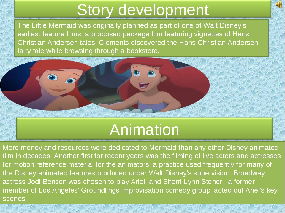 The Little Mermaid was originally planned as part of one of Walt Disney's ear...