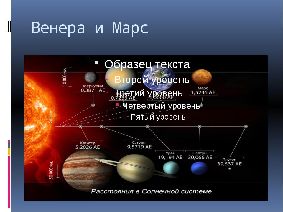 Венера и Марс