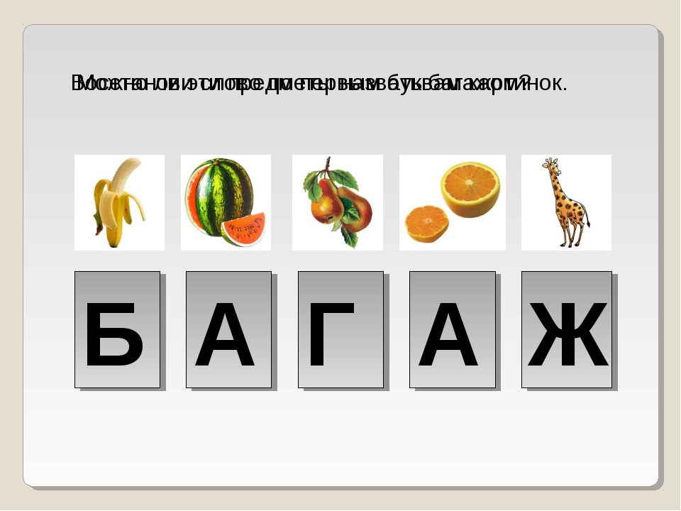 Восстанови слово по первым буквам картинок. Б А Г А Ж Можно ли эти предметы н...