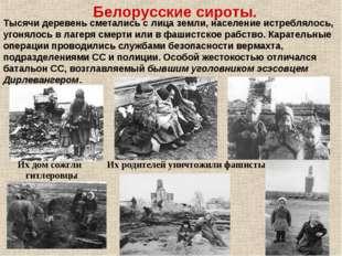 Тысячи деревень сметались слица земли, население истреблялось, угонялось вл