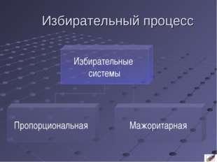 Избирательный процесс