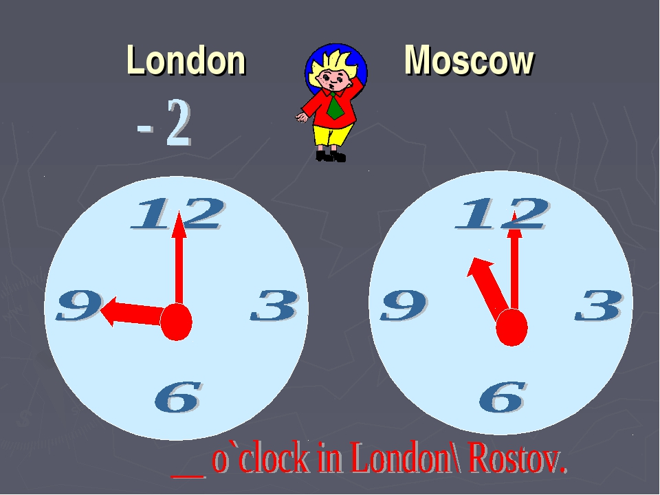 London Moscow