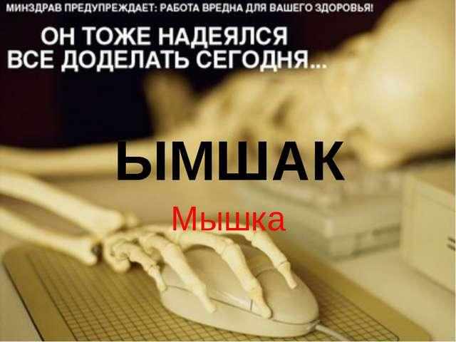 ЫМШАК Мышка